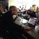 Ronaldo Dimas apresenta projeto do Sistema de Saneamento Integrado na Câmara